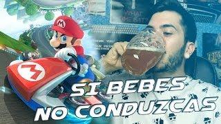 Si bebes, no conduzcas | Manqueando en Mario Kart 8