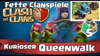 [413] Kurioser Queenwalk | starker Rh7 | knapper Rh9 CW Fight | Clash of Clans Deutsch COC