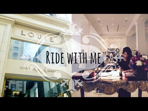 RIDE WITH ME: Downtown LA, Bottega Louie, Paseo Colorado