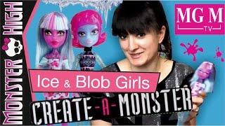Create-a-monster Blob and Ice Girls / Набор Создай Монстра обзор на русском ★MGM★