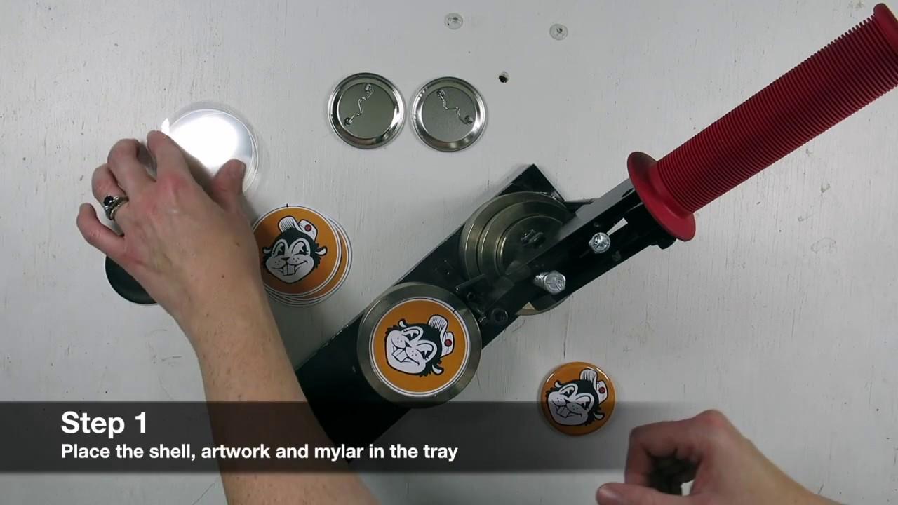 Button Making Supplies   Button Maker   Busy Beaver Button Co