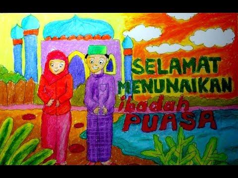 Download 101+ Gambar Poster Ramadhan Anak Sd Terbaru Gratis