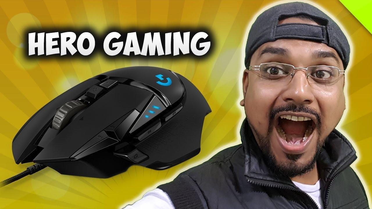 High Performance Gaming Mouse  Logitech G502 HERO