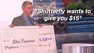 Ellen's most awkward moments (part 2) Video