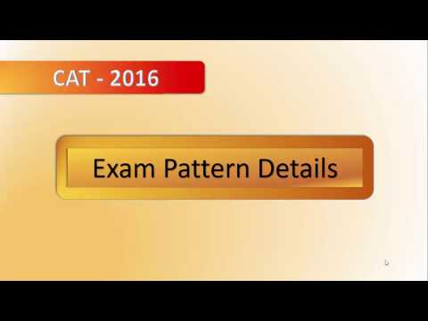 CAT Exam Pattern and Details
