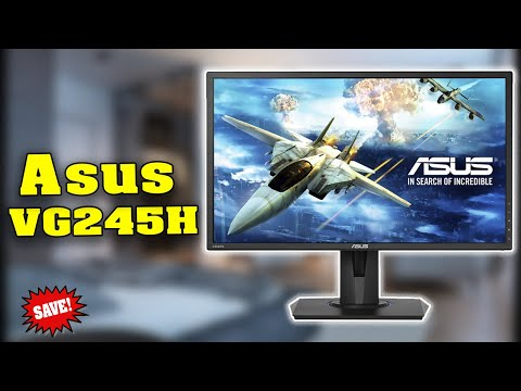 ASUS VG245H Review 2017 |Best Gaming Monitor Under 200
