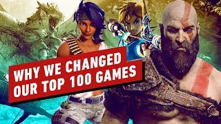 Why We Made Major Changes to IGN's 100 Best Games of All Time