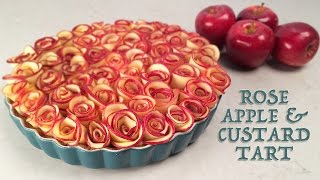 ROSE APPLE CUSTARD TART RECIPE by Ann Reardon How To Cook That ROSE DESSERT(Rose and Custard Apple Tart Recipe: https://www.howtocookthat.net/public_html/rose-apple-pie-recipe/ Subscribe: http://bit.ly/H2CThat With thanks to LG for ..., 2015-12-11T08:30:57.000Z)