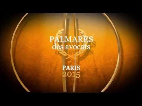Palmarès des Avocats - Paris 2015