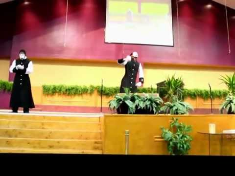 """Thank You"" Benita Washington - Praise Break (Psalms 3 Mime Ministry)"