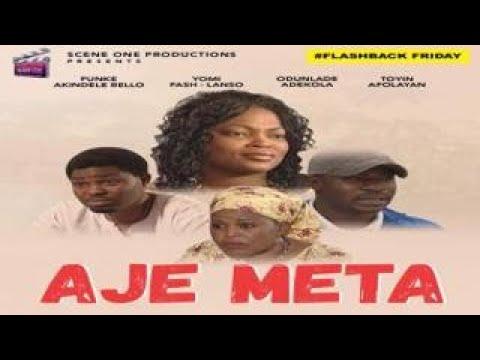 Download Flashback  Movie:  AJE META Part 1 (2) - Yoruba Nollywood Movie