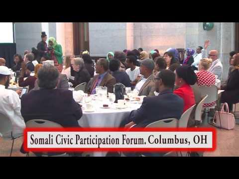 Somali Civic Participation Forum at the Ohio Statehouse.