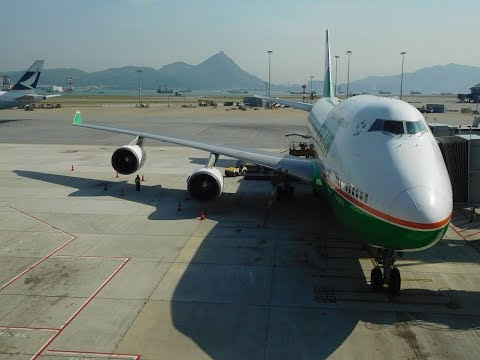 Last Flight EVA AIR B747 400
