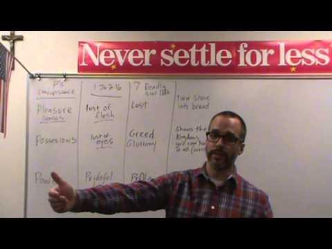 Never Settle Series - The Temptation of Christ