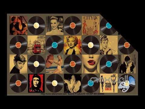 3D Pop Star Records Singer Wall Paper Mural Art Decals Print Decor Wallpaper - 100 movie star wall