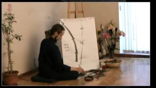 Обучение китайской живописи бамбука.Часть 6