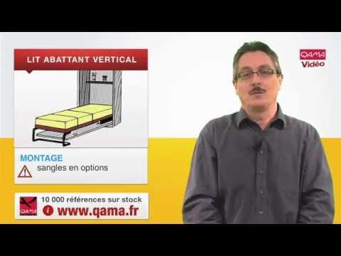 lit escamotable vertical lit abattant vertical par qama. Black Bedroom Furniture Sets. Home Design Ideas