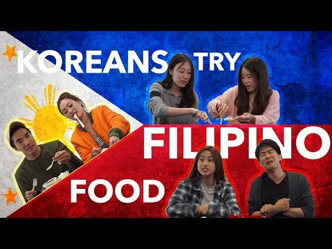 Do Koreans Like Filipino Food? | Kool Oppas & Unnies