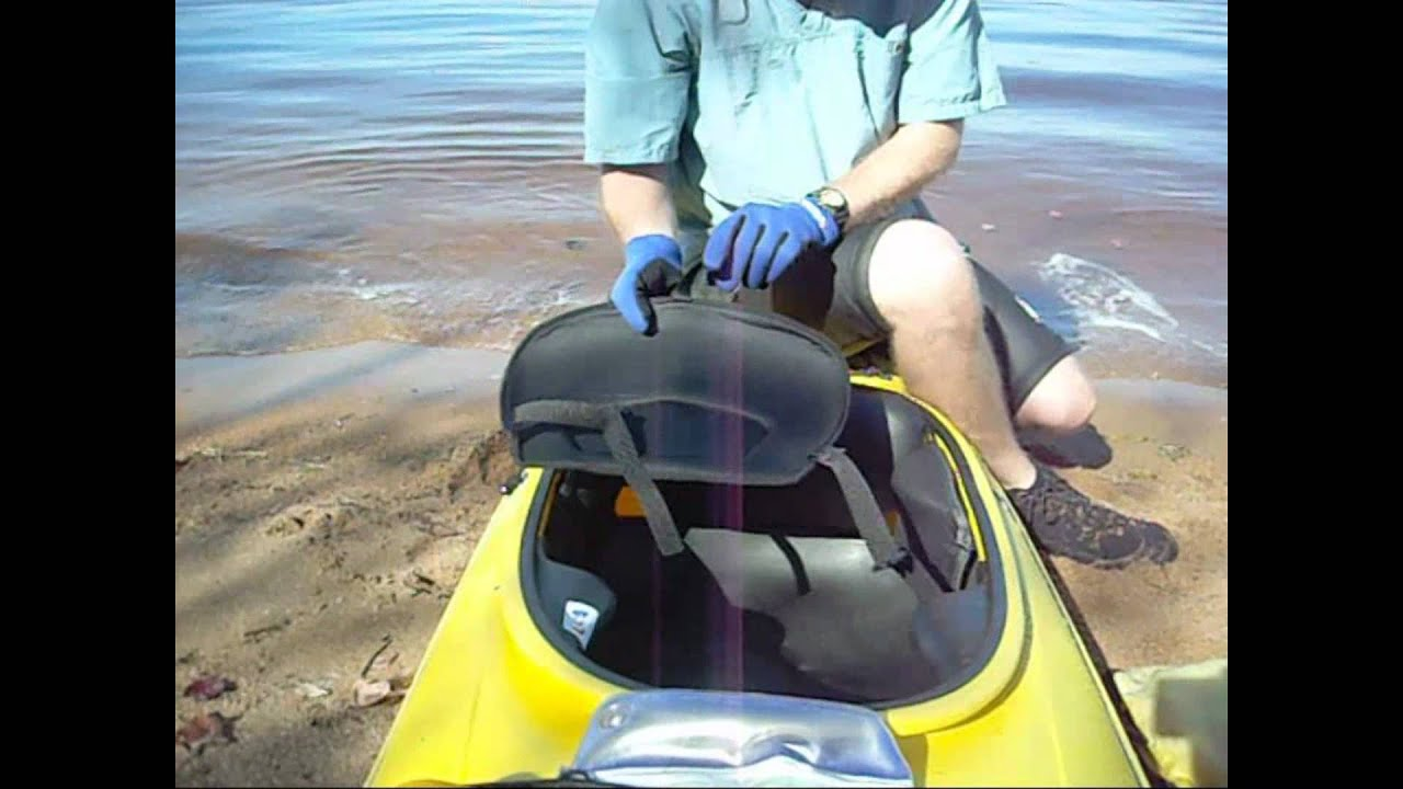 Seat Back Replacement for Kayaks