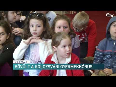 Bővült a kolozsvári gyermekkórus – Erdélyi Magyar Televízió