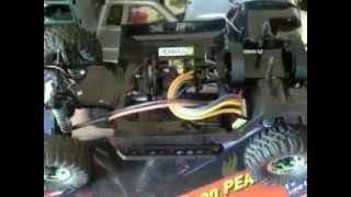 axial scx-10 honcho upgrades part 2