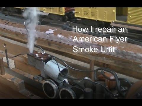 AF Smoke Unit Rebuild