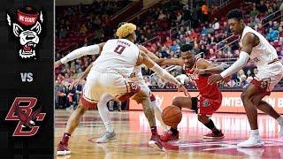NC State vs. Boston College Basketball Highlights (2018-19)