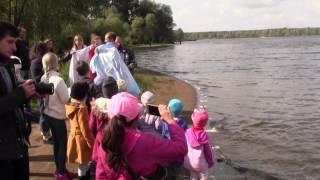 Первое крещение Церкви Свет для Украины 24.09.2016