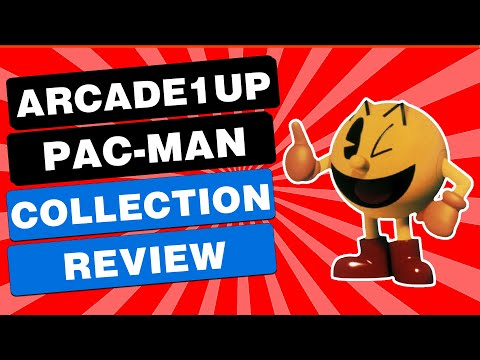 Arcade1up Pac Man Collection from Blaine Locklair