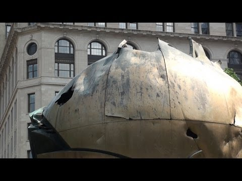 ☼ The Sphere New York | memorial collapse of the World Trade Center