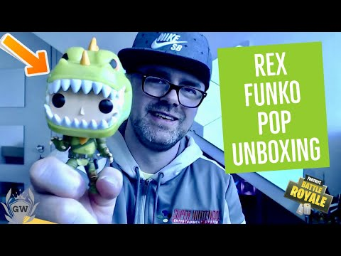 REX Fortnite Funko Pop Vinyl Unboxing! Fortnite Battle Royale! Collectables Pop 433