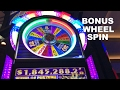 Wheel of Fortune Ultimate 777 $1 denom max bet with BONUS Wheel Spin