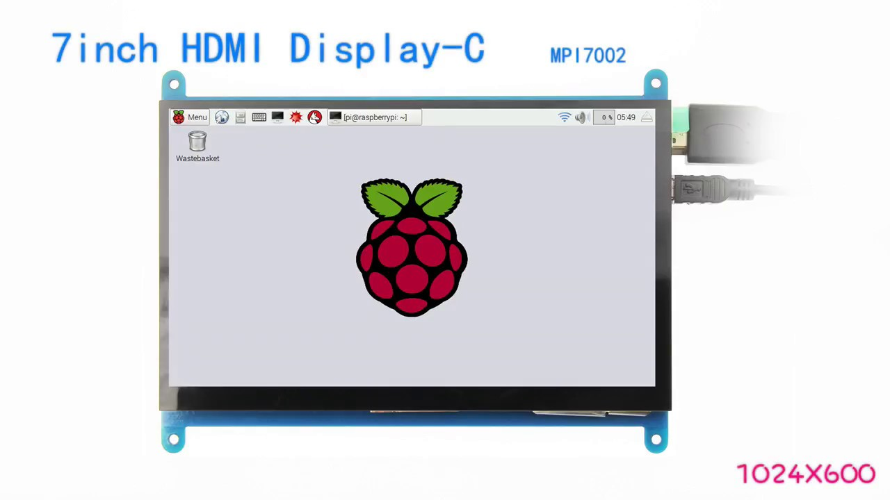 7inch HDMI Display-C - LCD wiki