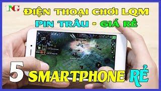 Top 5 chiếc điện thoại chơi game liên quân mobile tốt nhất hiện nay phần 1 xiaomi chơi game TNG