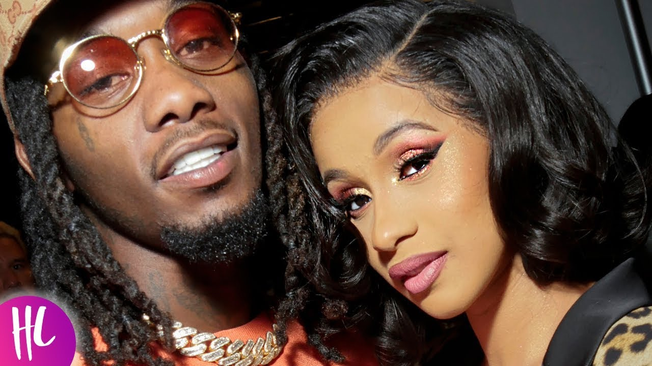 Cardi B Reveals Huge Offset Tattoo Of Husband S Name On: Cardi B Reveals Why She Took Offset Back