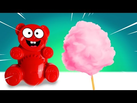 Zuckerwatte selber machen mit Lucky Bär