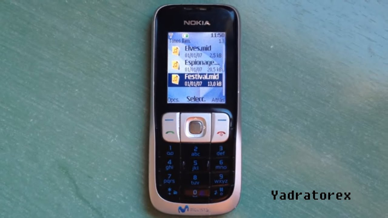 Nokia 2630 Review Old Ringtones Themes Wallpapers Youtube