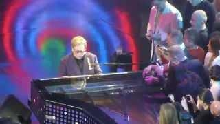 Elton John Saturday Night's Alright For Fighting Caesar's Palace 4-1-14 Las Vegas, NV