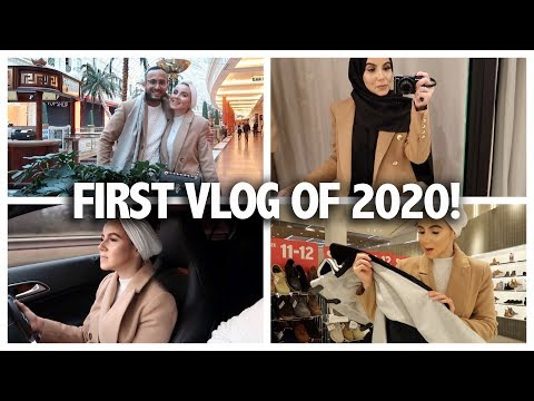 FIRST VLOG OF 2020! | Amina Chebbi