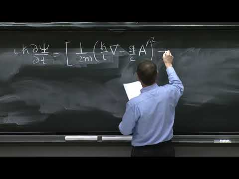 L13.5 Charged particles in EM fields: Schrodinger equation