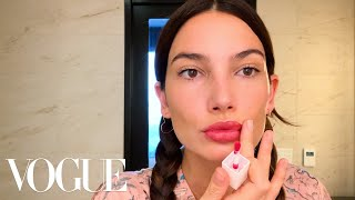 Lily Aldridge Shares Her Pregnancy Beauty Routine | Beauty Secrets | Vogue