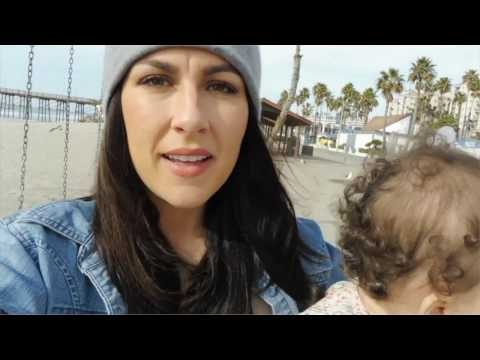 Family Beach Day, Oceanside California | Vlog