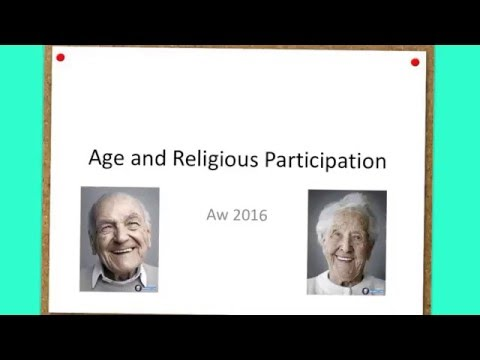 Age and Religious Participation