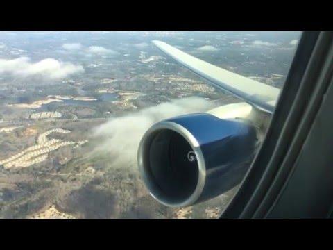 Delta 767-300 Takeoff From Atlanta Airport
