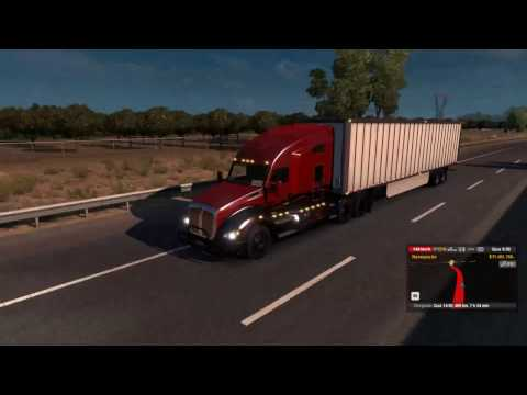 American Truck Simulator Short delivery!!