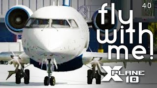 X-Plane 10 #5 Part 1 - Departing San Diego