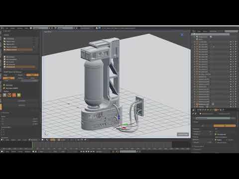 ArtStation - Sci Fi Modular Corridor - Unity, Payam Tavakoli