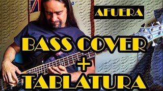 Afuera Caifanes (bass cover) (tablatura)