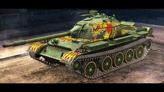 "Gameplay del Type 62 ""Dragon"" WoT Blitz"