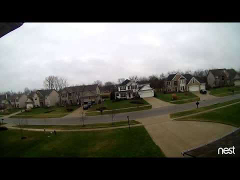 House Fire 1-2-17 Recorded on the Nest Camera,  Read Description